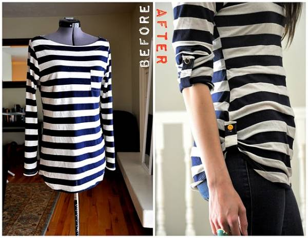 how to make a shirt bigger without cutting it
