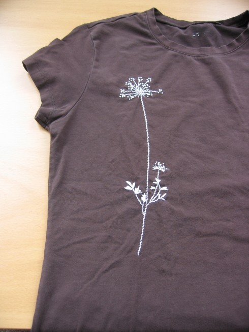 craftleftovers tshirt broderie Plus de 10 techniques pour customiser des t shirts