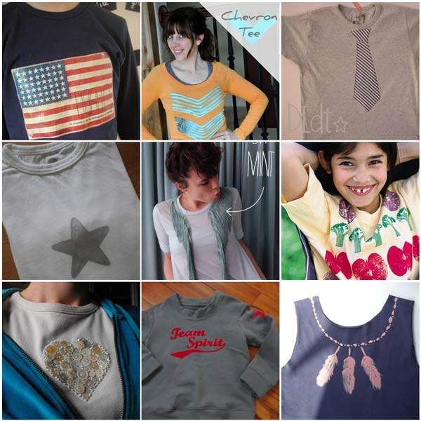 custo tshirts Plus de 10 techniques pour customiser des t shirts