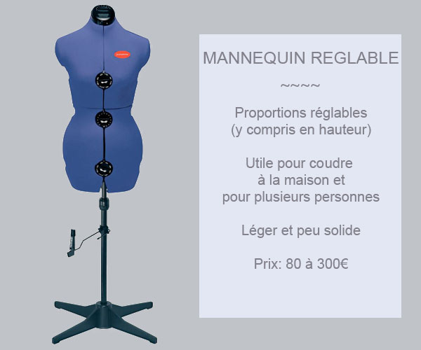 mannequin couturiere reglable blog de petit citron blog de petit citron. Black Bedroom Furniture Sets. Home Design Ideas