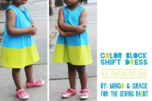 robe-enfant-colorblock