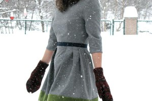 Couture robe femme hiver