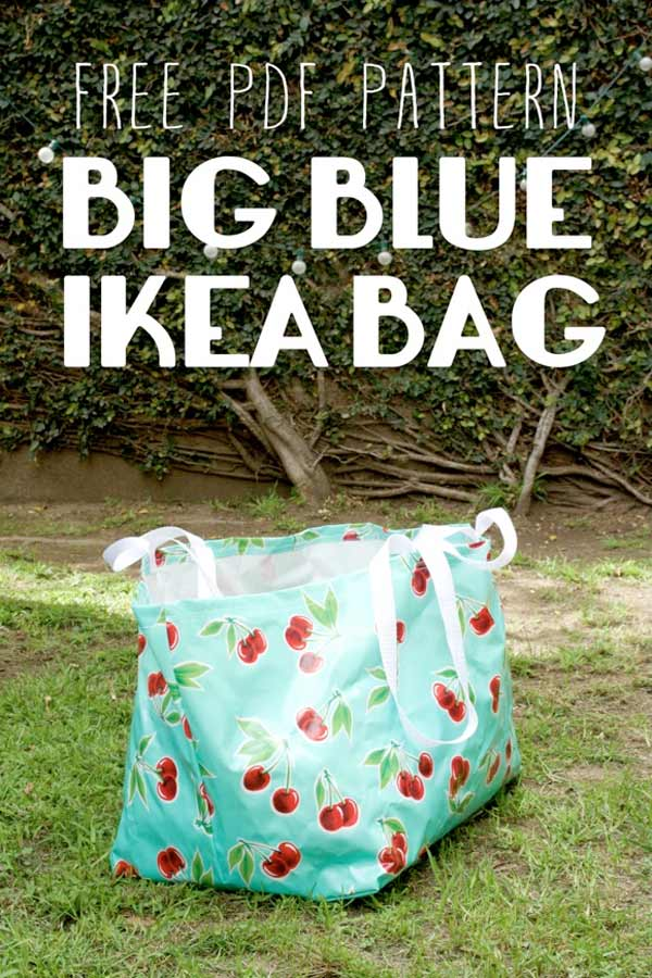 diy le gros sac bleu d 39 ikea blog de petit citron blog de petit citron. Black Bedroom Furniture Sets. Home Design Ideas