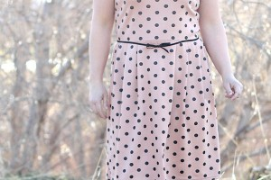 robe-t-shirt-pois