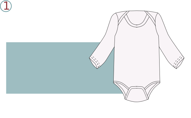 Robe body - étape n°1